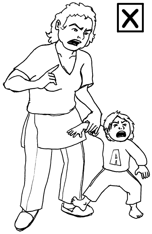 Abuse Angry Towards Child